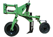 Row unit details: Stubble Warrior CR 600 Series 2