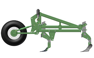 Gallery of Excel Agriculture's Fixed Bar Cultivator