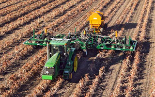 Gallery of Zero Till Parallelogram Double Disc Sorghum/Cotton Planter